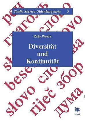 Diversität und Kontinuität von Weeda,  Eddy