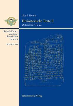 Divinatorische Texte II von Heessel,  Nils P