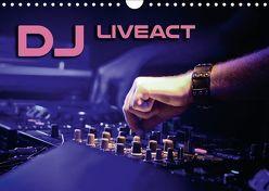 DJ Liveact (Wandkalender 2018 DIN A4 quer) von Bleicher,  Renate
