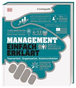 #dkinfografik. Management einfach erklärt von Anderson,  Philippa, Black,  Alexandra, Bourne,  Pippa, Reit,  Birgit, Ridout,  Richard