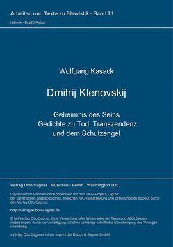 Dmitrij Klenovskij. Geheimnis des Seins. Gedichte zu Tod, Transzendenz und dem Schutzengel von Kasack,  Wolfgang