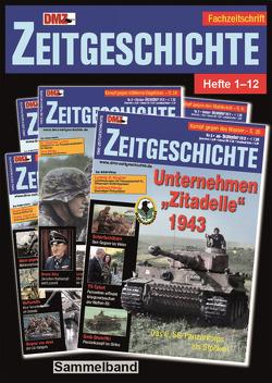 DMZ-Zeitgeschichte Heft 1-12 Sammelband von DMZ-Zeitgeschichte