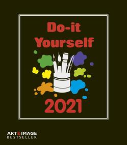 Do-it Yourself schwarz 2021 A&I – Bastelkalender – DIY – 21×24