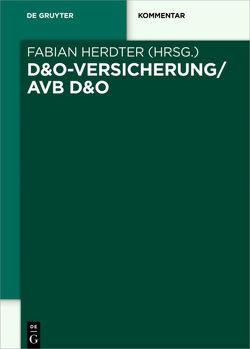 D&O-Versicherung/AVB D&O von Herdter,  Fabian
