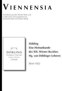 Döbling von Döblinger Lehrer, Opll,  Ferdinand, Weigl,  Andreas