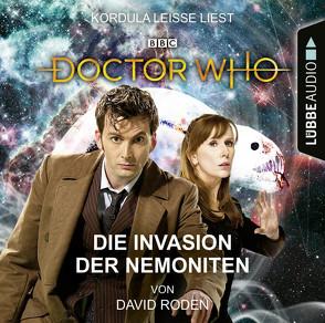 Doctor Who – Die Invasion der Nemoniten von Leiße,  Kordula, Meier,  Frauke, Roden,  David