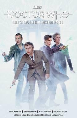 Doctor Who – Die verlorene Dimension von Abadzis,  Nick, Mann,  George, Melo,  Adriana, Scott,  Cavan, Stott,  Rachael