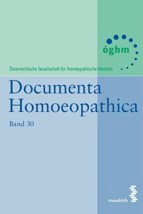 Documenta Homoeopathica