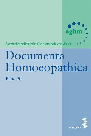 Documenta Homoeopathica