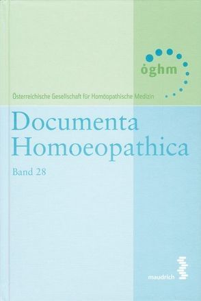 Documenta homoeopathica / Documenta Homoeopathica