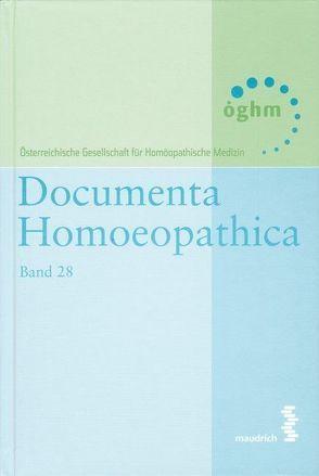 Documenta homoeopathica / Documenta Homoeopathica