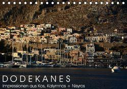 Dodekanes – Impressionen aus Kos, Kalymnos und Nisyros (Tischkalender 2018 DIN A5 quer) von Manz,  Katrin