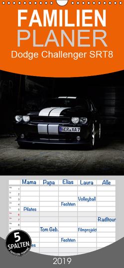 Dodge Challenger SRT8 – Familienplaner hoch (Wandkalender 2019 , 21 cm x 45 cm, hoch) von Xander,  Andre