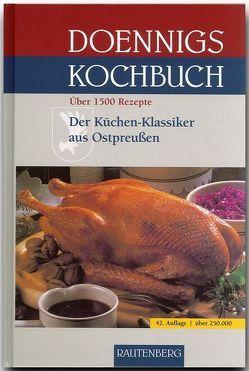 Doennigs Kochbuch von Brostowski,  Gertrud, Doennig,  Elisabeth, Doennig,  Margarete