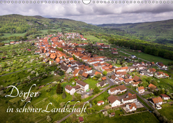 Dörfer in schöner Landschaft (Wandkalender 2019 DIN A3 quer) von Hempe,  Manfred