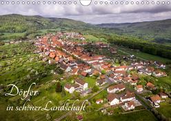Dörfer in schöner Landschaft (Wandkalender 2019 DIN A4 quer) von Hempe,  Manfred