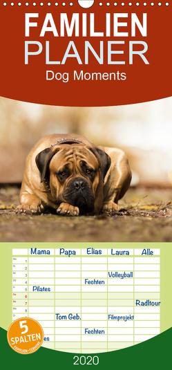 Dog Moments 2020 – Familienplaner hoch (Wandkalender 2020 , 21 cm x 45 cm, hoch) von Gauger,  Jenny