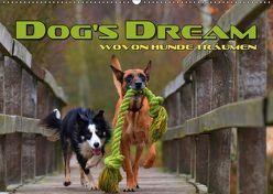 DOG'S DREAM – wovon Hunde träumen (Wandkalender 2019 DIN A2 quer) von Bleicher,  Renate