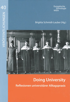 Doing University von Schmidt-Lauber,  Brigitta