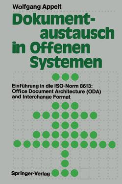 Dokumentaustausch in Offenen Systemen von Appelt,  Wolfgang