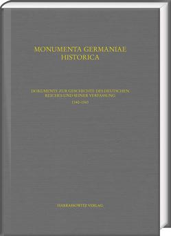 Dokumente zur Geschichte des Deutschen Reiches und seiner Verfassung. 1336–1344 von Menzel,  Michael