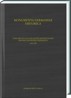 Dokumente zur Geschichte des Deutschen Reiches und seiner Verfassung 1362–1365 von Hohensee,  Ulrike, Lawo,  Mathias, Lindner,  Michael, Rader,  Olaf B.