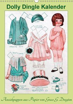 Dolly Dingle Kalender – Anziehpuppen von Grace G. Drayton (Wandkalender 2018 DIN A3 hoch) von Erbs,  Karen