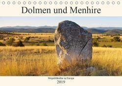 Dolmen und Menhire – Megalithkultur in Europa (Tischkalender 2019 DIN A5 quer) von LianeM