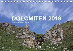 DOLOMITEN 2019 (Tischkalender 2019 DIN A5 quer) von Dittrich,  Steffen