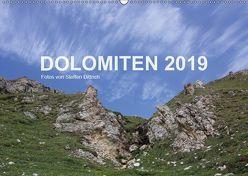DOLOMITEN 2019 (Wandkalender 2019 DIN A2 quer) von Dittrich,  Steffen