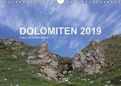 DOLOMITEN 2019 (Wandkalender 2019 DIN A4 quer) von Dittrich,  Steffen