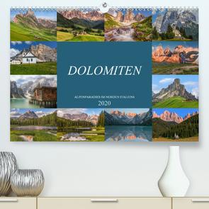 Dolomiten, Alpenparadies im Norden Italiens (Premium, hochwertiger DIN A2 Wandkalender 2020, Kunstdruck in Hochglanz) von Kruse,  Joana