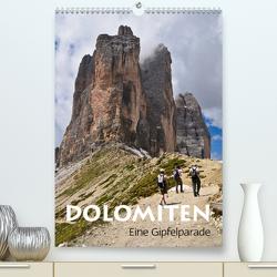 Dolomiten – Eine Gipfelparade (Premium, hochwertiger DIN A2 Wandkalender 2021, Kunstdruck in Hochglanz) von Barig Computergrafik · Satz · Layout · Fotografie www.barig.de (C) Joachim Barig all rights reserved,  Joachim