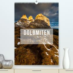 Dolomiten. Italien (Premium, hochwertiger DIN A2 Wandkalender 2021, Kunstdruck in Hochglanz) von Gospodarek,  Mikolaj