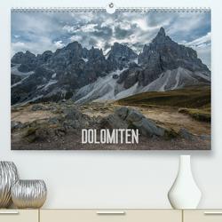Dolomiten (Premium, hochwertiger DIN A2 Wandkalender 2020, Kunstdruck in Hochglanz) von Burri,  Roman