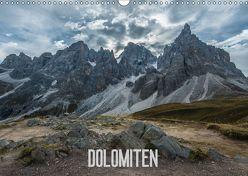Dolomiten (Wandkalender 2018 DIN A3 quer) von Burri,  Roman