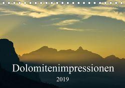 Dolomitenimpressionen (Tischkalender 2019 DIN A5 quer) von Seitz,  Michael