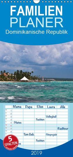 Dominikanische Republik – Familienplaner hoch (Wandkalender 2019 , 21 cm x 45 cm, hoch) von hessbeck.fotografix