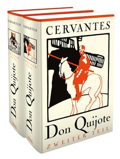 Don Quijote (2 Bände, illustriert) von Braunfels,  Ludwig, Cervantes Saavedra,  Miguel de, Doré,  Gustave