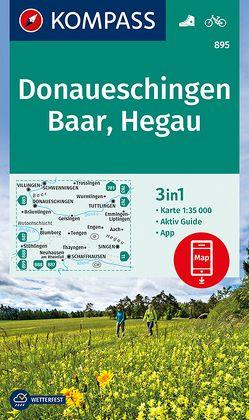 Donaueschingen, Baar, Hegau von KOMPASS-Karten GmbH