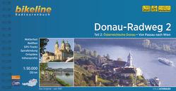 Donauradweg / Donau-Radweg 2 von Esterbauer Verlag