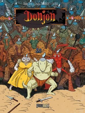 Donjon 110 – Hoher Septentrion von Alfred, Pröfrock,  Ulrich, Sfar,  Joann, Trondheim,  Lewis