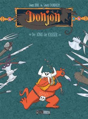 Donjon 2 – Der König der Krieger von Sfar,  Joann, Trondheim,  Lewis, Vilim,  Jana