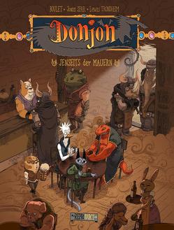 Donjon 7: Jenseits der Mauern von Boulet, Pröfrock,  Uli, Sfar,  Joann, Trondheim,  Lewis