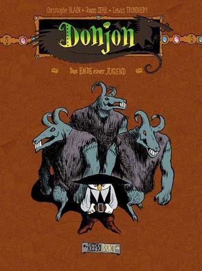 Donjon -97 – Das Ende einer Jugend von Blain,  Christophe, Sfar,  Joann, Trondheim,  Lewis, Wilksen,  Kai