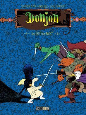 Donjon -99 – Das Hemd der Nacht von Blain,  Christophe, Krämling,  Tanja, Sfar,  Joann, Trondheim,  Lewis