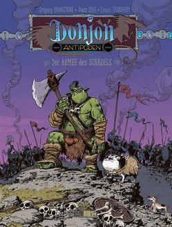 Donjon Antipoden -10.000: Die Armee des Schädels von Pröfrock,  Ulrich, Sfar,  Joann, Trondheim,  Lewis