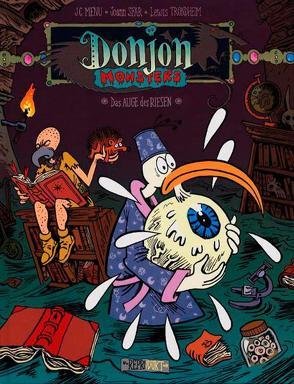 Donjon Monster 12 – Das Auge des Riesen von Menu,  Jean-Christophe, Sfar,  Joann, Trondheim,  Lewis, Wilksen,  Kai