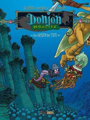 Donjon Monster 2 – Die Armeen der Tiefe von Killoffer, Sfar,  Joann, Trondheim,  Lewis, Wilksen,  Kai
