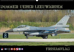 Donner ueber Leeuwarden (Wandkalender 2021 DIN A2 quer) von Weber,  Thomas